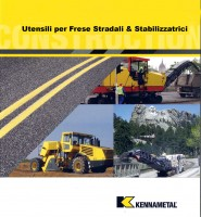 Spare parts for road Milling Machines - TOOLS, BLOCKS AND ACCESSORIES FOR ROAD MILLING MACHINES